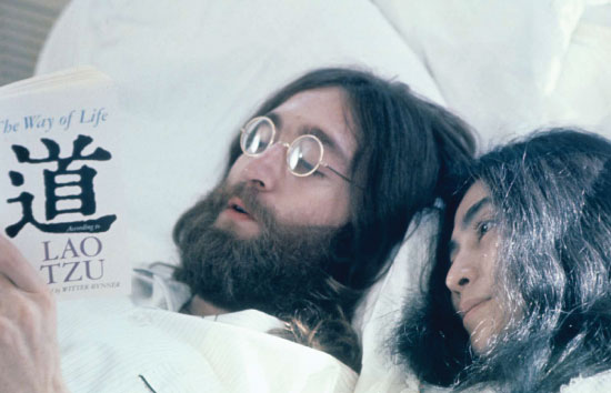 John and Yoko - Bed-In for Peace, Montreal 68